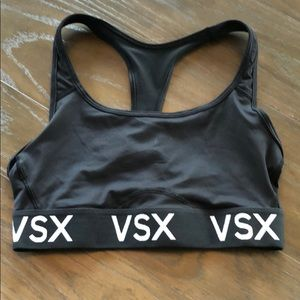 VSX Sport Black Sports Bra Small Excellent
